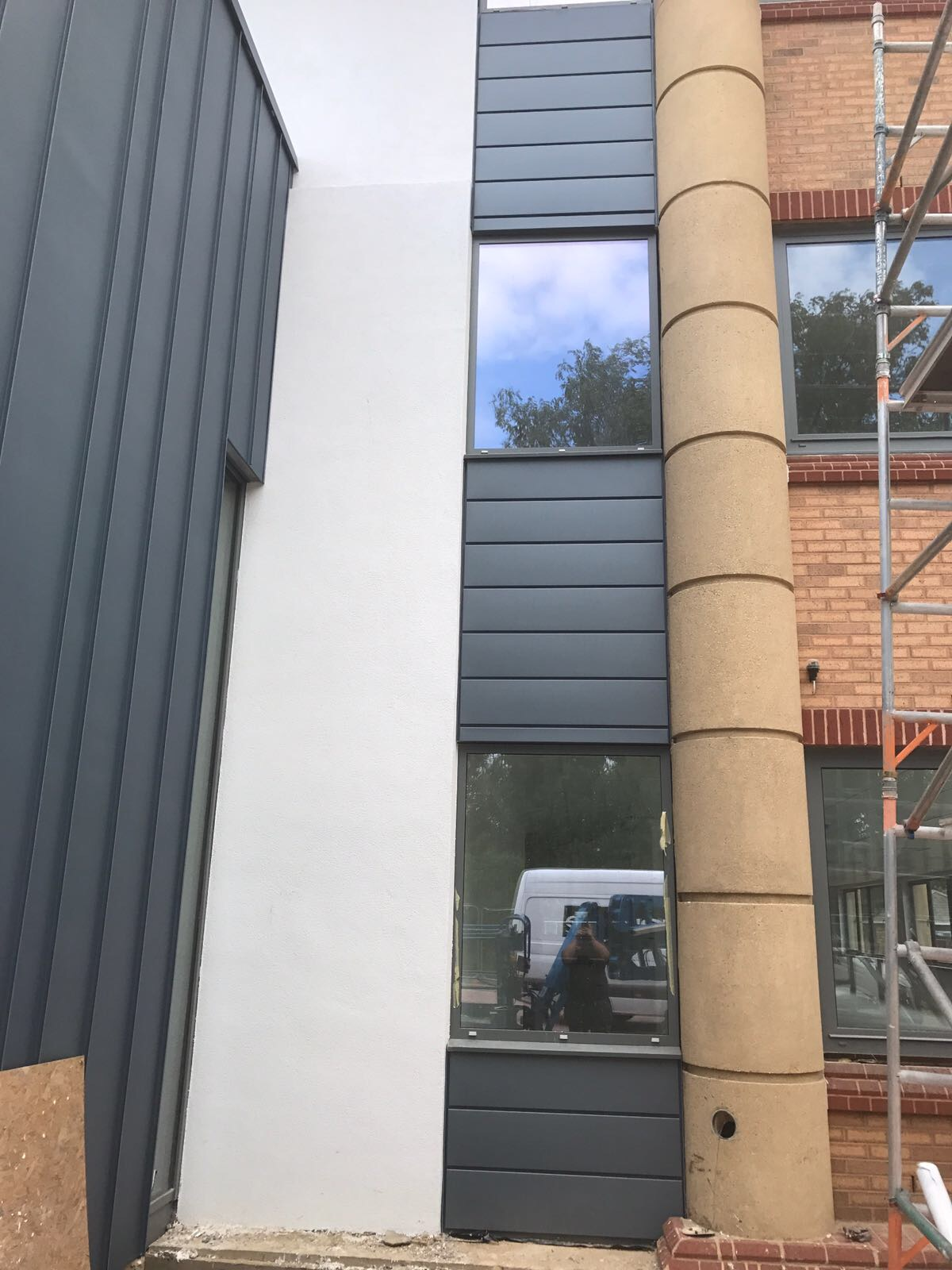 Teal House Uxbridge Roofing Amp Cladding Specialist