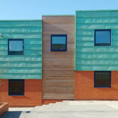 What a great visual experience copper cladding is!