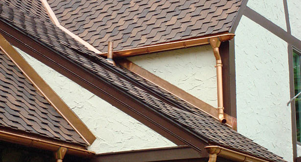 RAC Specialist also offers Metal Guttering & Downpipe Installation