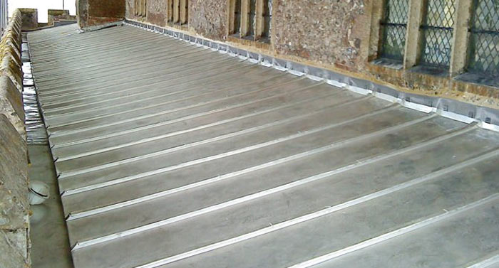 Stainless Steel Standing Seam Roofing